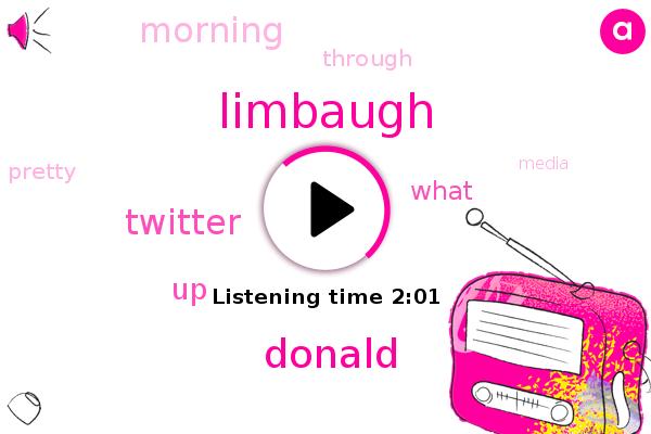 Limbaugh,Twitter,Donald Trump