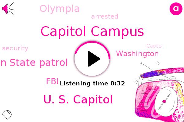 Capitol Campus,U. S. Capitol,Olympia,Washington,Washington State Patrol,FBI