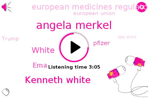 EMA,Pfizer,European Medicines Regulatory Network,Angela Merkel,European Union,Kenneth White,Donald Trump,App Store,Social Media,Facebook,France,White,SUN