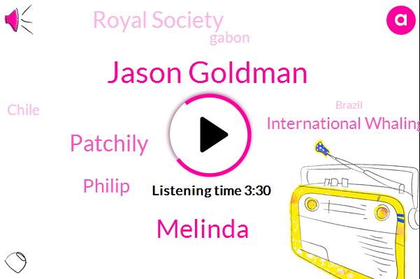 Jason Goldman,Atlantic,Indian Ocean,International Whaling Commission,Gabon,Royal Society,Chile,Melinda,Brazil,Madagascar,Patchily,Wales,Philip,Sixty Seconds