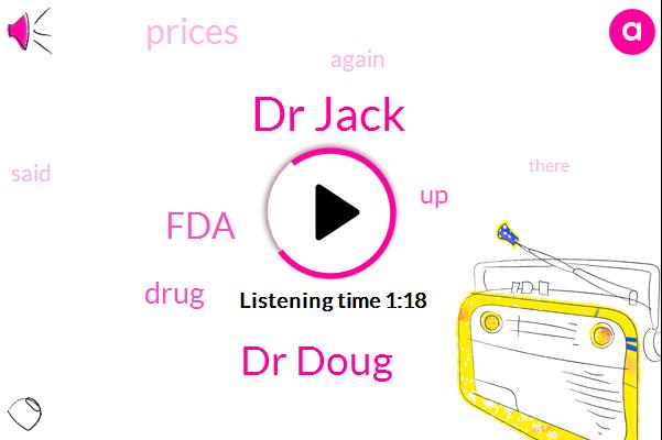 Dr Jack,Dr Doug,FDA,Six Percent