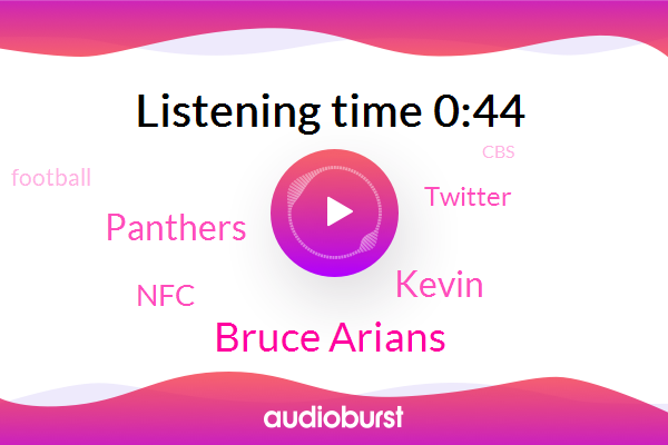 Bruce Arians,Panthers,NFC,Kevin,Twitter,Football,CBS