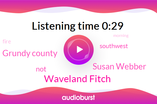 Waveland Fitch,Susan Webber,Grundy County