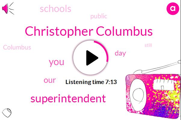 Listen: Atlanta Public Schools Could Remove Columbus Day From Calendar