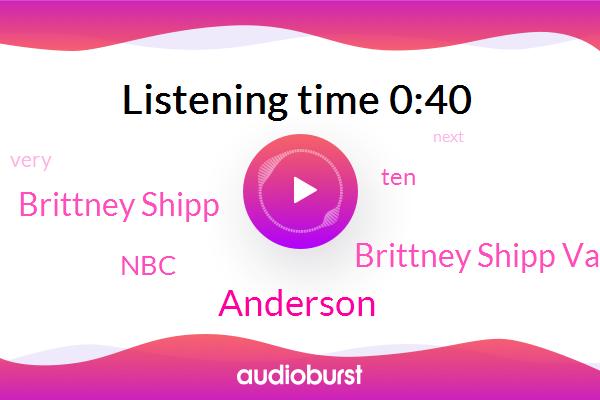Anderson,NBC,Brittney Shipp Valentine,Brittney Shipp