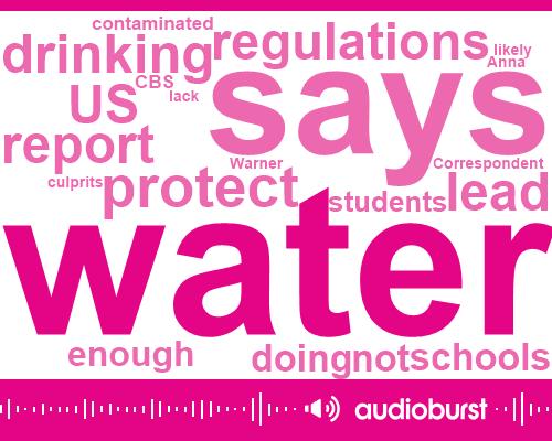 Listen: Lead contamination found in school drinking water across the U.S.