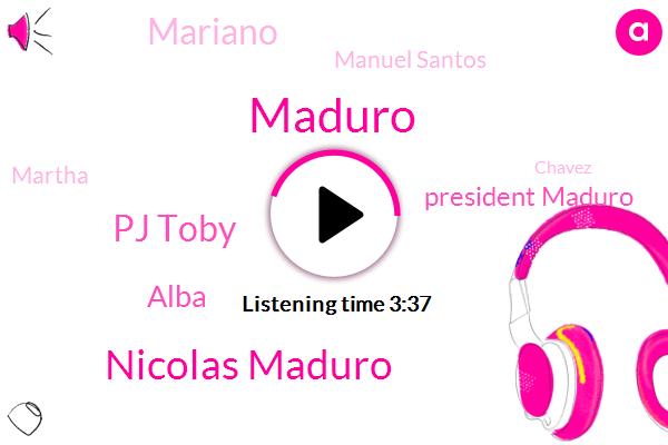 Nicolas Maduro,Venezuela,President Trump,Alba,Caracas,Analyst,Gorman,Pj Toby,United States,Producer,Atlantic Council,SUE,Chavez,Brazil,Colombia,Martha,Manuel Santos
