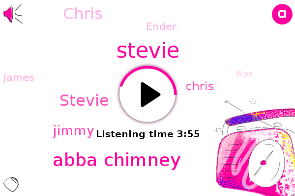 WPA,Steve,Stevie,Abba Chimney,Jimmy,Chris,Youtube,Ender,James