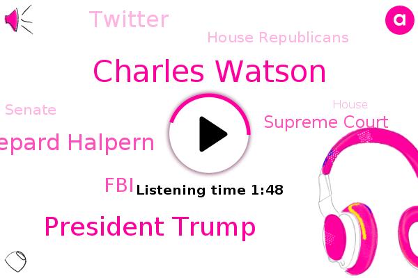 Charles Watson,Nashville,Fox News,President Trump,FOX,FBI,Little Rock,Arkansas,Supreme Court,Twitter,House Republicans,Senate,Shepard Halpern,House,Washington,America