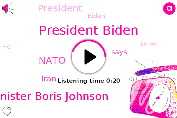 Listen: British PM Boris Johnson welcomes 'incredibly encouraging' early moves from Biden