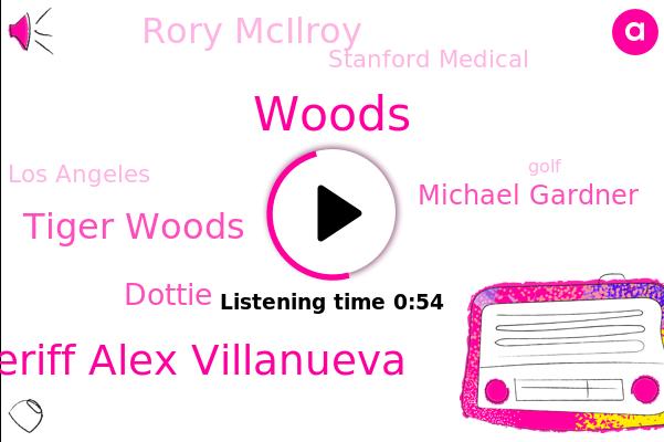 Sheriff Alex Villanueva,Ap News,Tiger Woods,Dottie,Michael Gardner,Stanford Medical,Golf,AP,Woods,Los Angeles,Rory Mcilroy