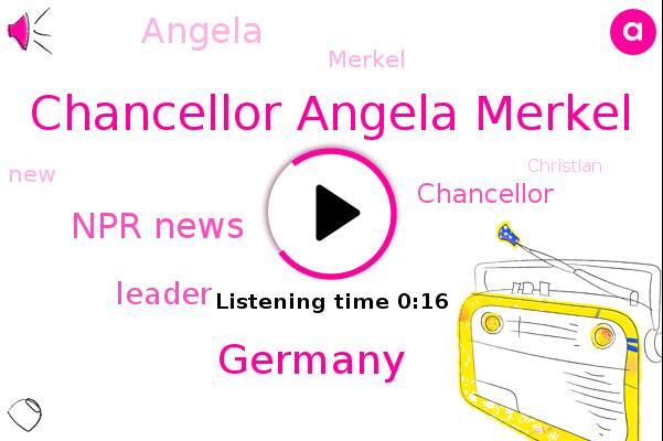 Chancellor Angela Merkel,Germany,Npr News