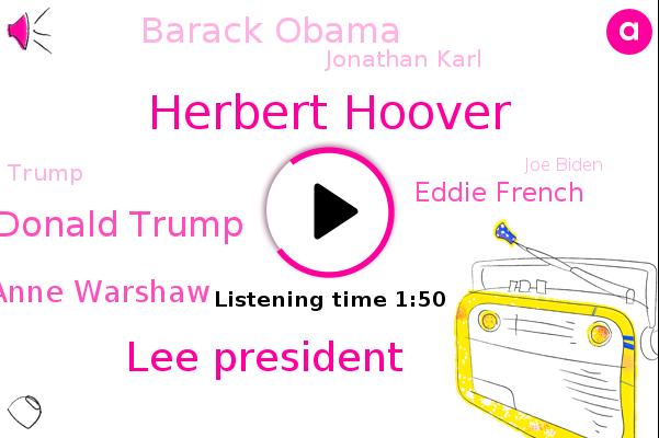 Herbert Hoover,Lee President,Donald Trump,President Dr. Shirley Anne Warshaw,Fielding Center For Presidential Leadership Study,Eddie French,Gettysburg College,Barack Obama,Jonathan Karl,United States,Washington,White House,Joe Biden