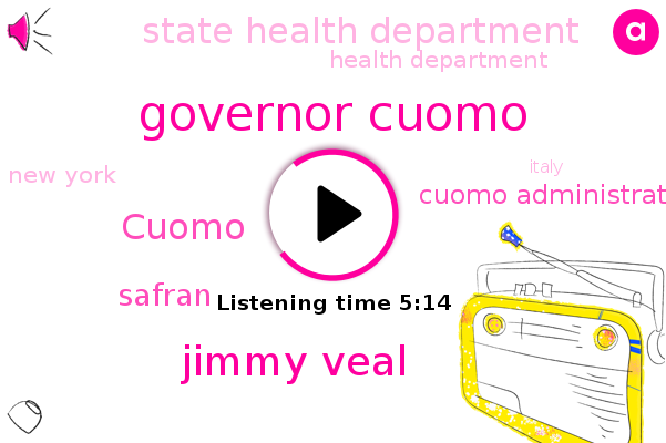 Listen: New York Gov. Cuomo Lashes Out at Critics As Outcry Over Nursing Homes Grows