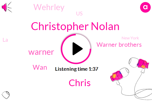 Wehrley,Warner Brothers,Christopher Nolan,Chris,United States,Warner,LA,New York,WAN
