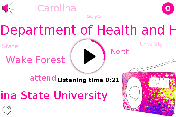 North Carolina Department Of Health And Human Services,North Carolina State University,Wake Forest
