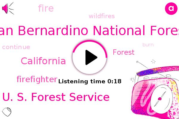 San Bernardino National Forest,U. S. Forest Service,California