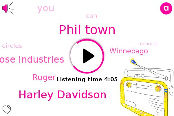 Phil Town,Choose Industries,Ruger,Winnebago,Harley Davidson