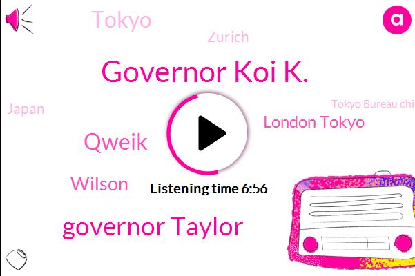 Tokyo,Japan,Tokyo Bureau Chief,London Tokyo,Governor Koi K.,Governor Taylor,Olympics,Qweik,Zurich,Soccer,Wilson,Europe,Chiba,Intercon