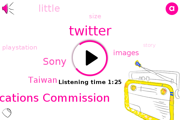 Twitter,National Communications Commission,Sony,Taiwan