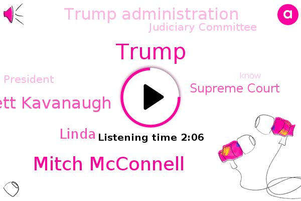 Supreme Court,Donald Trump,Mitch Mcconnell,Trump Administration,Brett Kavanaugh,Judiciary Committee,President Trump,Linda
