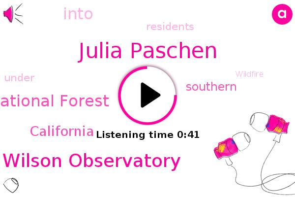 Mount Wilson Observatory,Julia Paschen,Angeles National Forest,California
