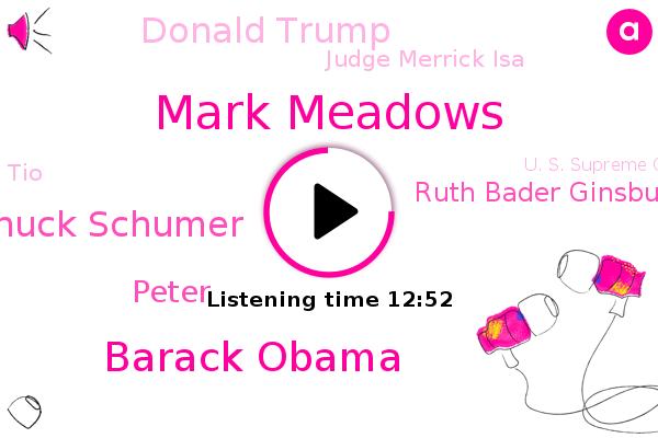 Listen: Mark Meadows Speaks with Reporters