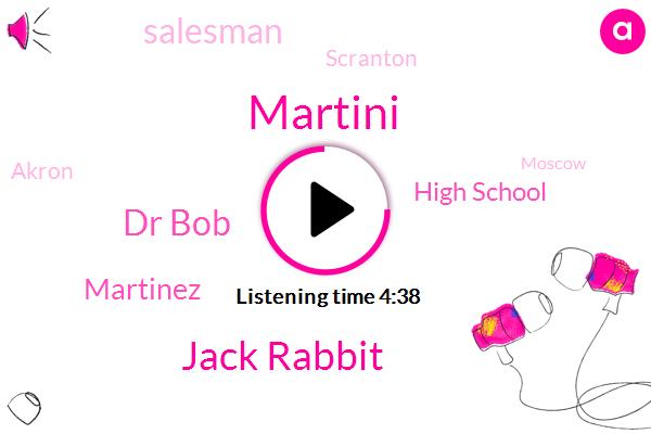 Salesman,High School,Martini,Cuyahoga Falls,Jack Rabbit,Football,Dr Bob,Scranton,Akron,Moscow,Martinez,Cleveland
