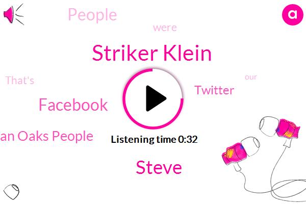 Sherman Oaks People,Striker Klein,Twitter,Facebook,Steve