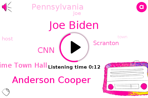 Joe Biden,Primetime Town Hall,Anderson Cooper,Scranton,CNN,Pennsylvania