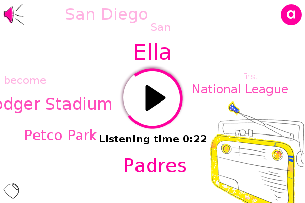 San Diego,Dodger Stadium,Padres,Petco Park,Ella,National League
