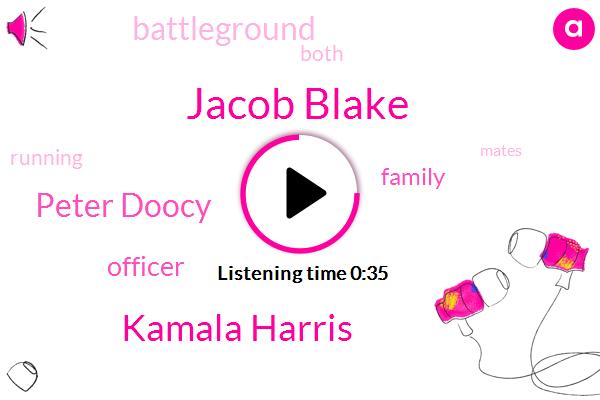 Jacob Blake,Kamala Harris,Peter Doocy,Officer,FOX
