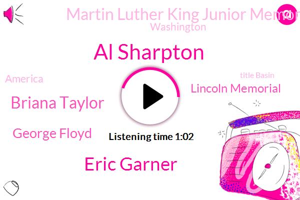 Lincoln Memorial,Martin Luther King Junior Memorial,Al Sharpton,Eric Garner,Title Basin,Washington,Briana Taylor,George Floyd,America
