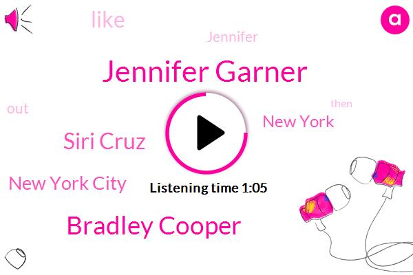 Jennifer Garner,Bradley Cooper,Siri Cruz,New York City,New York