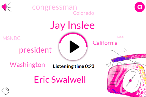Listen: Washington Governor Jay Inslee drops out of 2020 presidential race