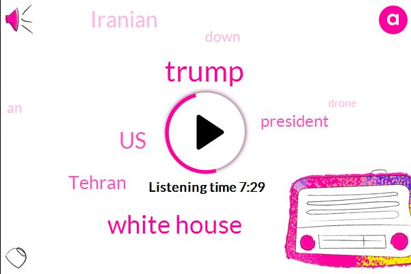Listen: Iran rejects Trump's claim U.S. destroyed an Iranian drone