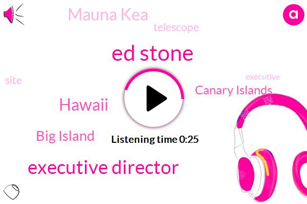 Executive Director,Hawaii,Big Island,Canary Islands,Mauna Kea,Ed Stone,Thirty Meter