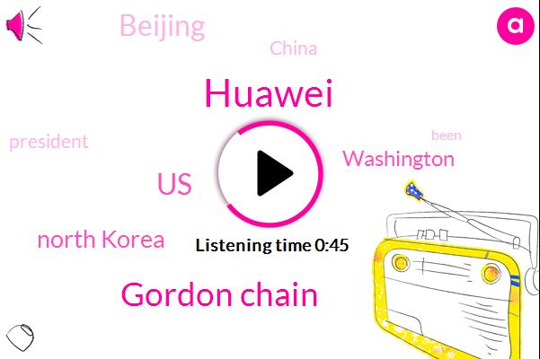 Listen: Huawei secretly helped North Korea build, maintain wireless network