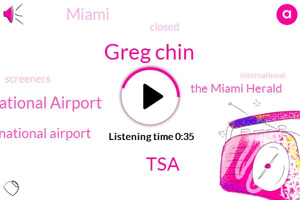 Miami International Airport,Orlando International Airport,TSA,The Miami Herald,Greg Chin