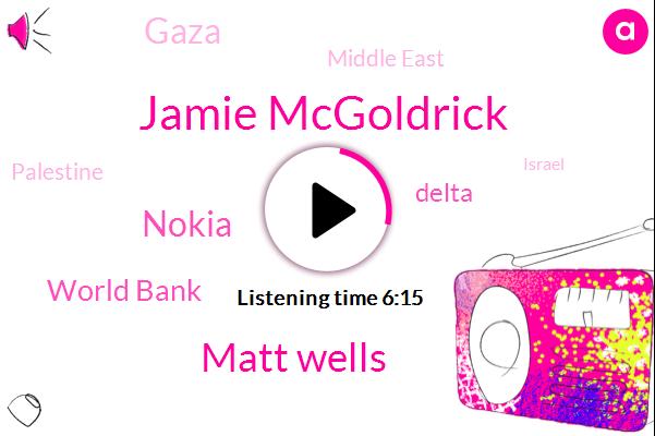 Gaza,Middle East,UN,Gaza Strip,Jamie Mcgoldrick,Palestine,Israel,Matt Wells,Nokia,Gulf,Coordinator,United States,Belo,World Bank,Delta,Technical Support