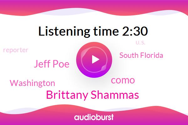 Brittany Shammas,Como,Jeff Poe,South Florida,Reporter,The Washington Post,U. S.,Washington,Vice President,Komo