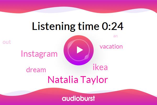 Natalia Taylor,Ikea,Instagram