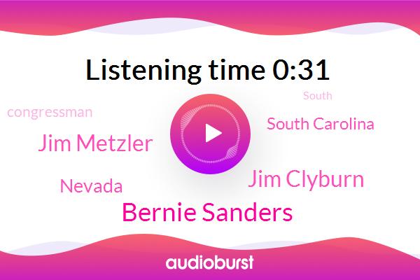 Bernie Sanders,Nevada,South Carolina,Congressman,Jim Clyburn,ABC,Jim Metzler