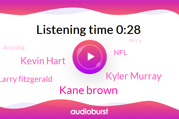 Kane Brown,Kyler Murray,NFL,Kevin Hart,Arizona,Larry Fitzgerald