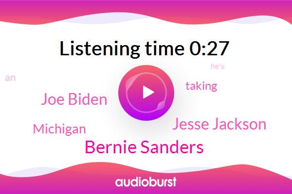 Bernie Sanders,Jesse Jackson,Michigan,Joe Biden