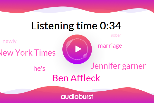 Ben Affleck,Jennifer Garner,The New York Times
