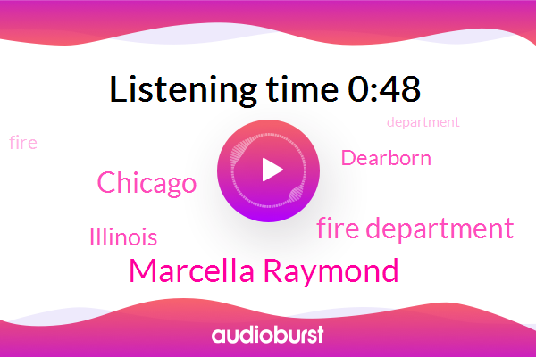 Marcella Raymond,Illinois,Dearborn,Chicago,Fire Department
