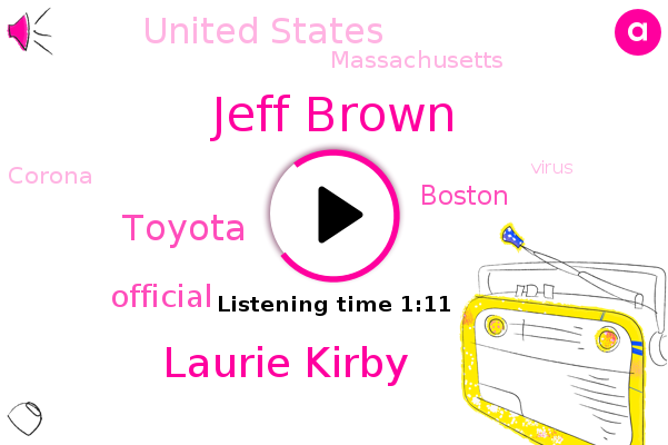 Boston,Toyota,Jeff Brown,Laurie Kirby,United States,Massachusetts,Official