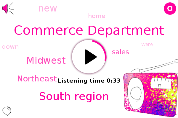 Commerce Department,South Region,Midwest,Northeast