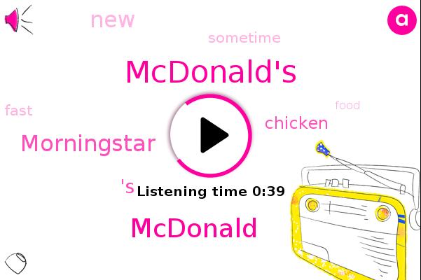 Mcdonald,Morningstar,Mcdonald's,'S